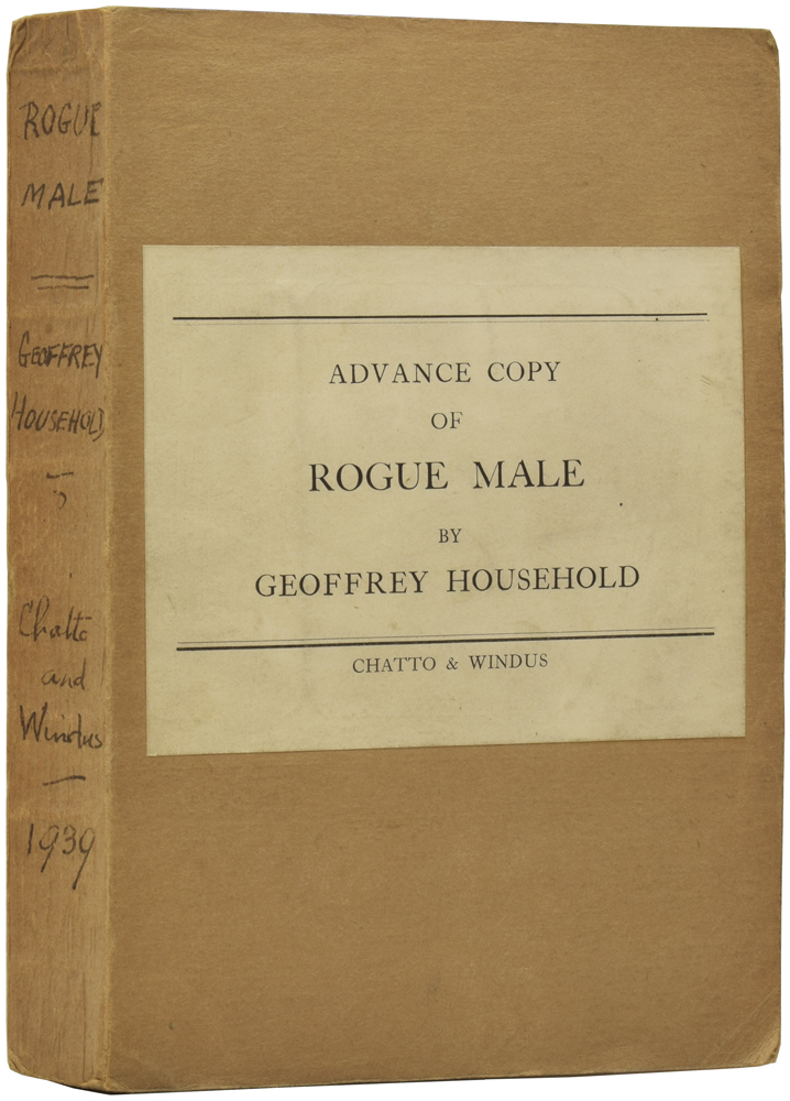 Rogue Male [aka Man Hunt]. Geoffrey HOUSEHOLD.