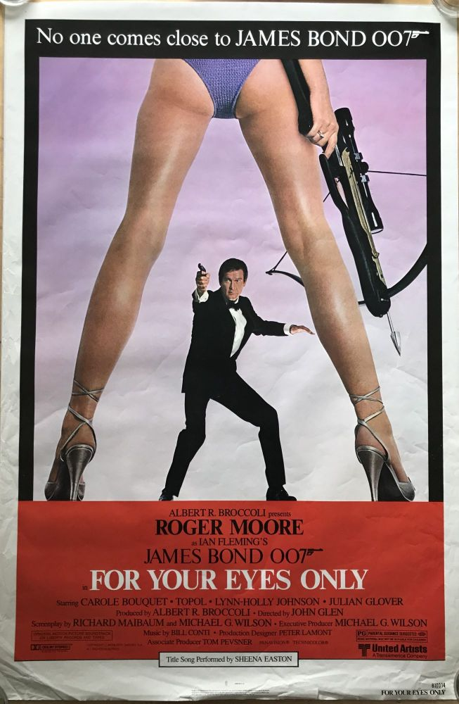 [MOVIE POSTER] For Your Eyes Only. Ian Lancaster FLEMING.