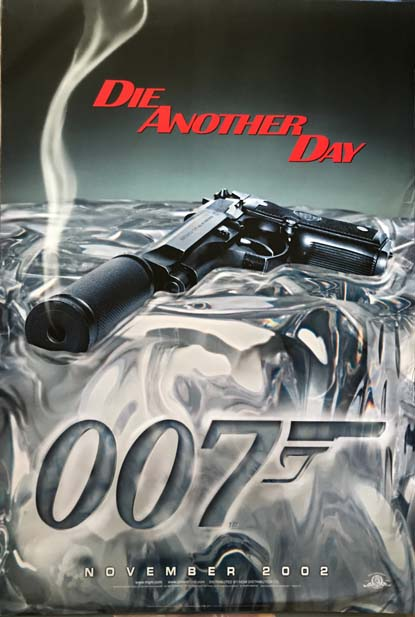 [MOVIE POSTER] Die Another Day. Ian Lancaster FLEMING.