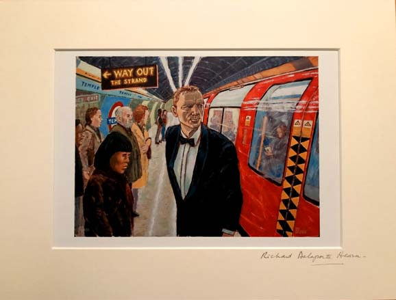 'Get On The Train'. Richard DELAPORTE HEARN.