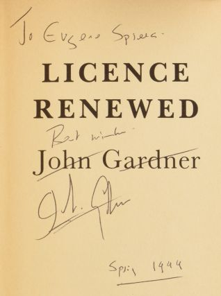 Licence Renewed. James Bond 007. Ian FLEMING, John GARDNER.