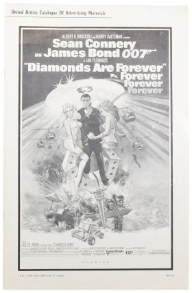 Diamonds Are Forever. Press Book [Exhibitor's Campaign Book]. Ian FLEMING