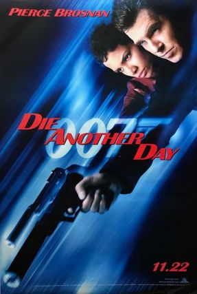 MOVIE POSTER] Die Another Day. Ian Lancaster FLEMING