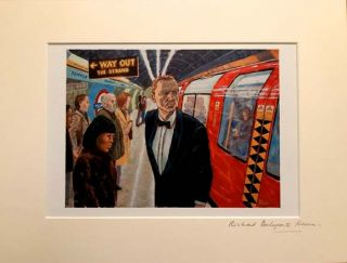 'Get On The Train'. Richard DELAPORTE HEARN