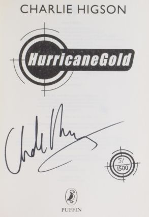 Hurricane Gold (Young James Bond series).